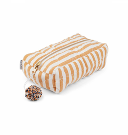 Liewood Toiletry bag stripes mustard