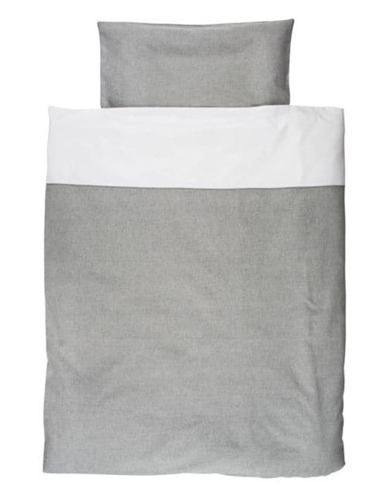 Les rêves d'Anaïs Donsovertrek/Sloop BedSirene Grey 110x150cm