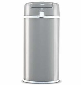 Prima Nova Diaper Pail Steel Grey