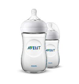 Avent Natural-babyfles 260ml DUO SCF033/27