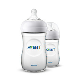 Avent Set van 2 flessen 260ml