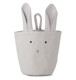Liewood Opbergmand rabbit dumbo grey