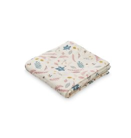 CamCam Printed Muslin Cloth Pressed Leaves