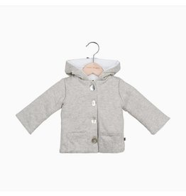 House Of Jamie Bow Tie Hooded Jacket Stone 56-62