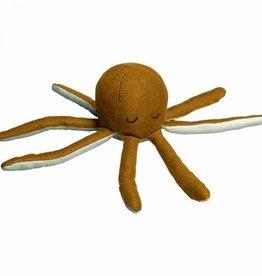 Fabelab Rattle Soft Octopus Ochre