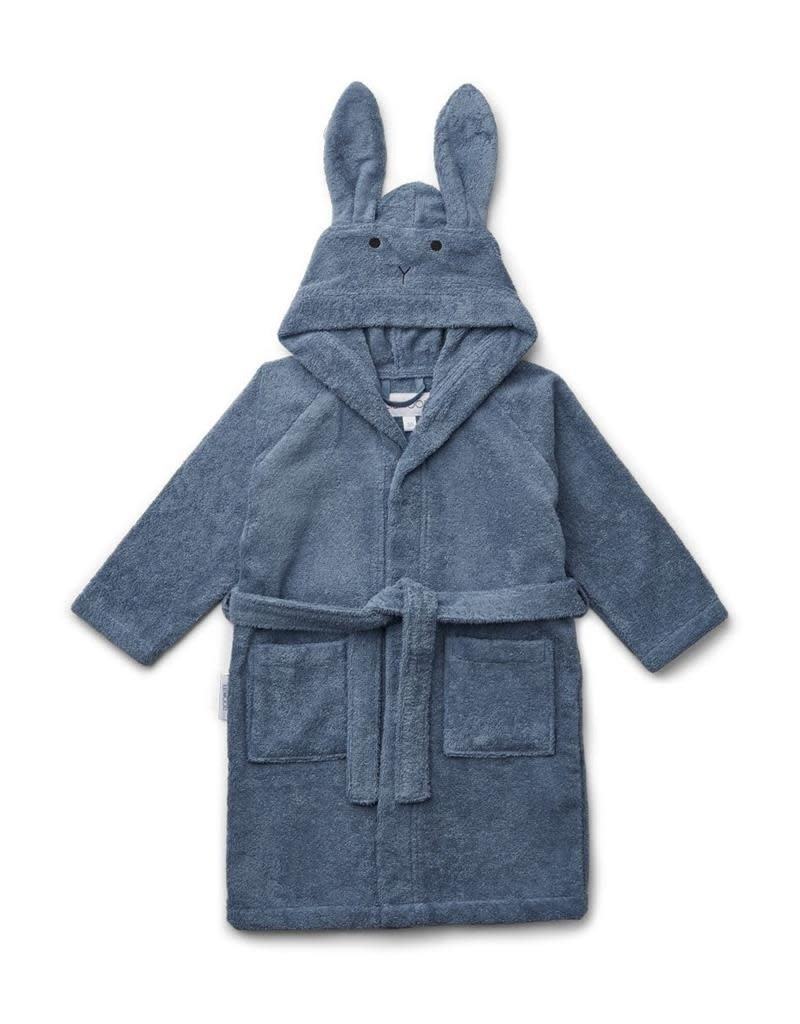 Liewood Badjas rabbit blue wave