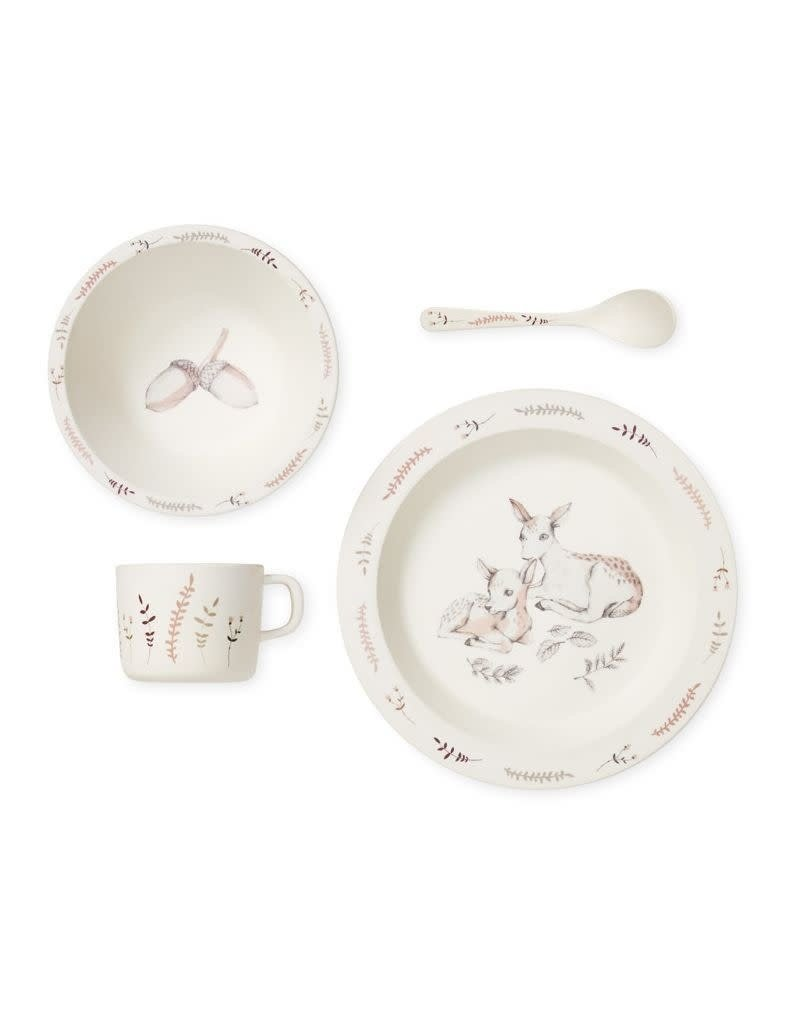 CamCam Bamboo Dinnerware Set - Forest Theme