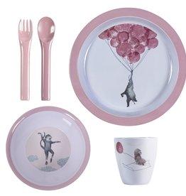 Sebra Melamine dinner set
