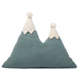 Nobodinoz Bergkussentje doker turquoise