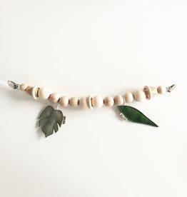 Bezisa Wagenspanner Leaf Pistache + Pine