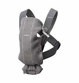 BabyBjörn Bbay carrier mini, dark grey,  3D jersey