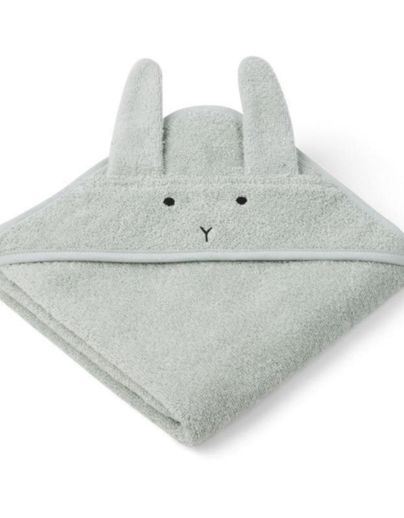 Liewood Badcape albert rabbit dusty mint