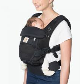 Ergobaby Adapt-babydraagzak  Cool Air Mesh Onyx Black