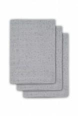 Jollein Hydrofiel washandjes Mini dots Grey