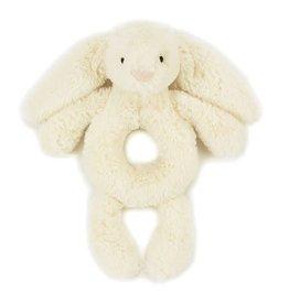 JellyCat Bashful Cream Bunny Ring Rattle