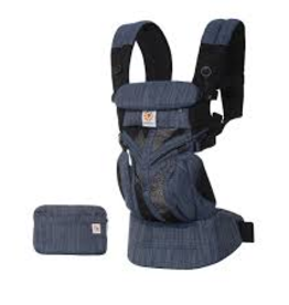Ergobaby Draagzak Omni 360 Cool Air Indigo Wave