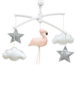 Pouce et Lina Mobiel Flamingo Roze Corial