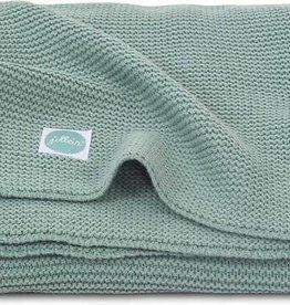 Jollein Deken 100x150cm Basic knit forest green