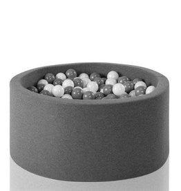 Miiimi Donker grijs ballenbad ( exlusief ballen )
