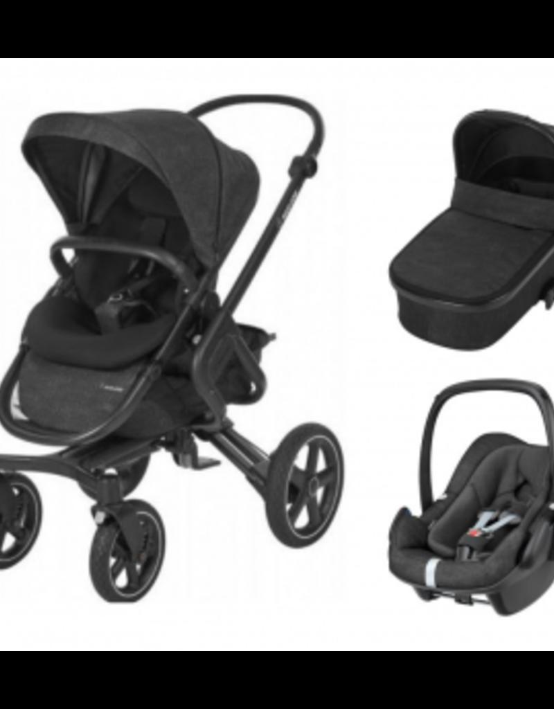 Maxi cosi Pakketprijs Nova 4 - draagmand Oria - Pebble plus Nomad black