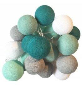 La Case De Cousin Slinger cotton lampjes groen premium