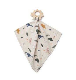 Liewood Dines teether cuddle cloth dino mix