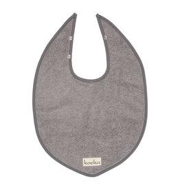 Koeka Slabbetje Steel grey