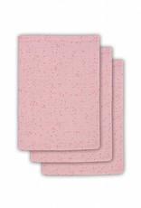 Jollein Hydrofiel washandjes Mini dots pink