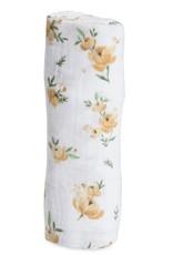 Little Unicorn Cotton Muslin Swaddle single Yellow rose