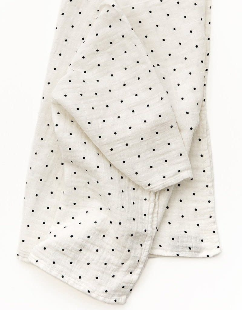 Clementine Kids Swaddle black and white