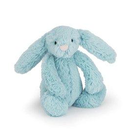 JellyCat SMall bashful aqua Bunny