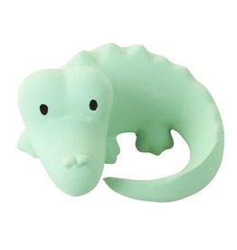 Tikiri Natuurlijk rubber badspeelgoed krokodil