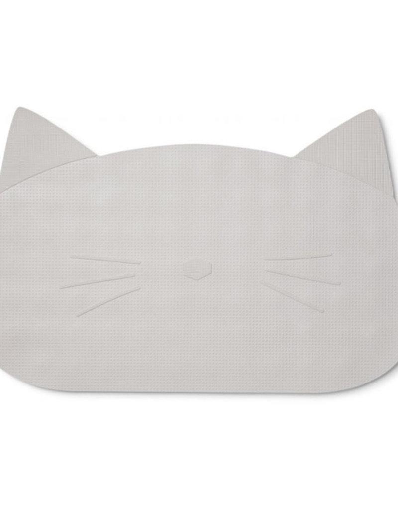Liewood Badmat cat dumbo grey