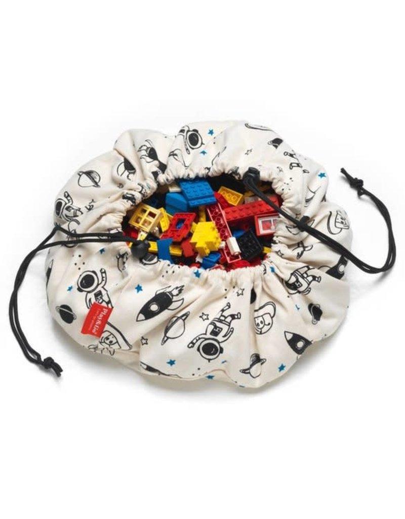 Play&Go Opbergzak speelgoed space mini