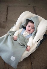 Koeka Koeka - Baby Voetenzak Runa teddy (3/5-puntsgordel) - Leaf - One size