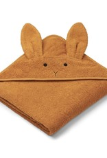Liewood Augusta Hooded Junior Towel - Rabbit mustard