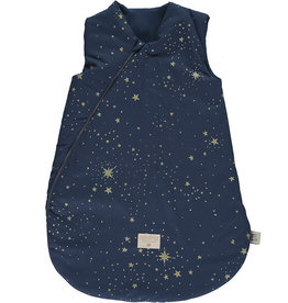 Nobodinoz Cocoon sleeping bag gold stella/ night blue 0/6M