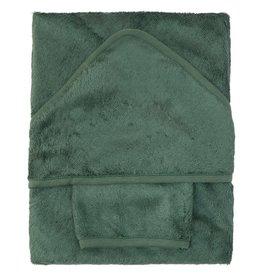 Timboo BADCAPE XL + WASHANDJE Aspen green