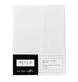 Meyco Laken wieg effen wit 75 x 100