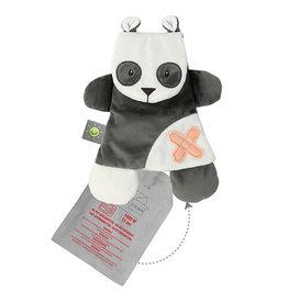 Nattou Buddiezzz doudou + gel pack panda