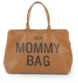 Childhome Mommy bag leatherlook brown