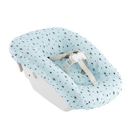Stokke Newborn Textile Set White/Aqua Mountains (oud model)