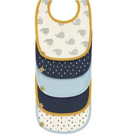 Lassig Slabbers value pack Little water Whale (set van 5)
