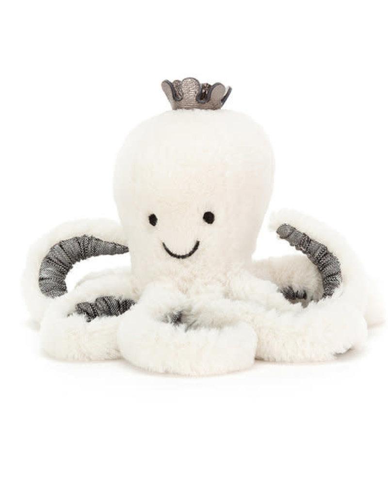 JellyCat Octopus met kroontje