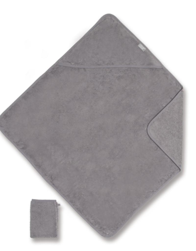 Bemini Badcape / 75x75cm / Gris 2 / TERRY - COOLG2TU