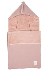 Koeka Baby voetenzak Runa teddy 3/5 punts  old pink