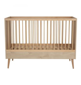 Quax Cocoon Bed 140*70 Cm - Natural Oak