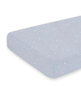 Bemini Hoeslaken bed / 70x140cm / Sterretjesprint medium gr / JERSEY - STARY92JP
