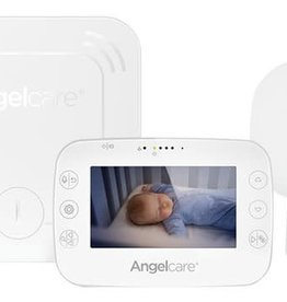 Angelcare Geluids- en bewegingsbabyfoon met camera draadloos sensormatje AC327