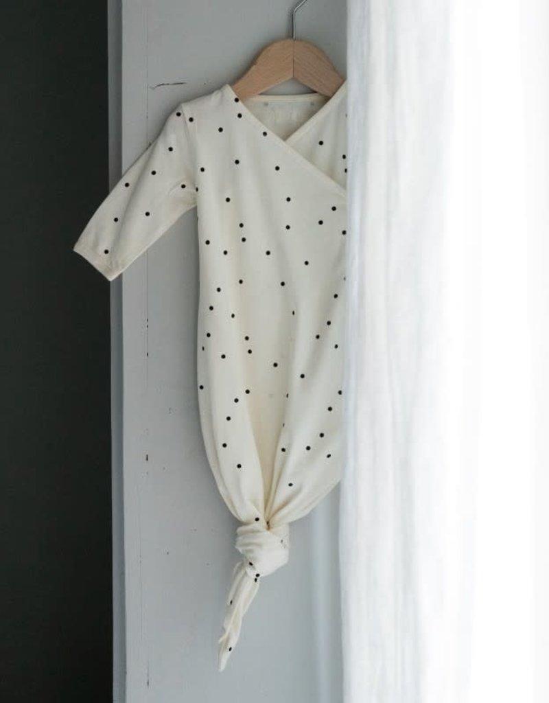 Bonjour Little Kimono Sleeping Bag - Dots Cream
